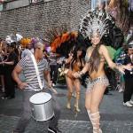 ブラジルのサンバダンスはカーニバルの華