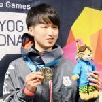 高校選手権覇の榊原一輝、成長感じた銀メダル