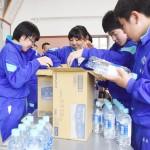 新潟県長岡市立小国中学校の生徒が恩返しを