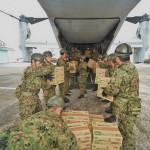 初めてオスプレイが日本国内で災害派遣に貢献