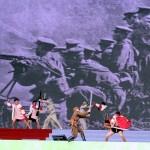 1895年から1945年に台湾が日本から中華民国に編入されるまでの日本統治時代を演出