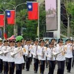 台湾国防部(防衛省に相当)の連合楽儀隊(マーチングバンド)による演奏-