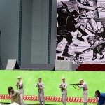 国民党軍が無辜(むこ)の台湾人を虐殺する姿を描く