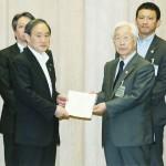 九州7県、官房長官に観光産業へ支援を要請