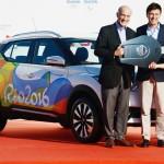 日産自動車がリオ五輪で使用する車両4200台提供