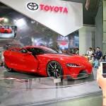 トヨタのブースではコンセプトカーが人気
