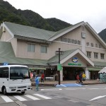 黒部峡谷鉄道の起点・宇奈月駅