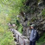 猿飛峡に向かう途中