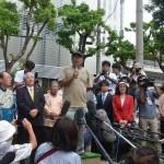 沖縄本島・東村高江区の反基地運動に住民が困惑