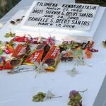 墓標にカワラバヤシという名前。1942年死去。戦前に日本人と結婚した人かもしれない