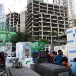 墓地周辺にも都市化の波。墓地前という絶妙な立地のマンションはフィリピン人的にはどうなのか?