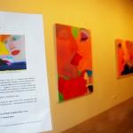 ふと街中を歩くと眼に映るアートギャラリー:愛をテーマに描かれている絵画