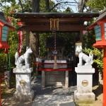 境内に鎮座する稲荷神社。ここの祭神は宇迦之御魂神(うかのみたまのかみ)