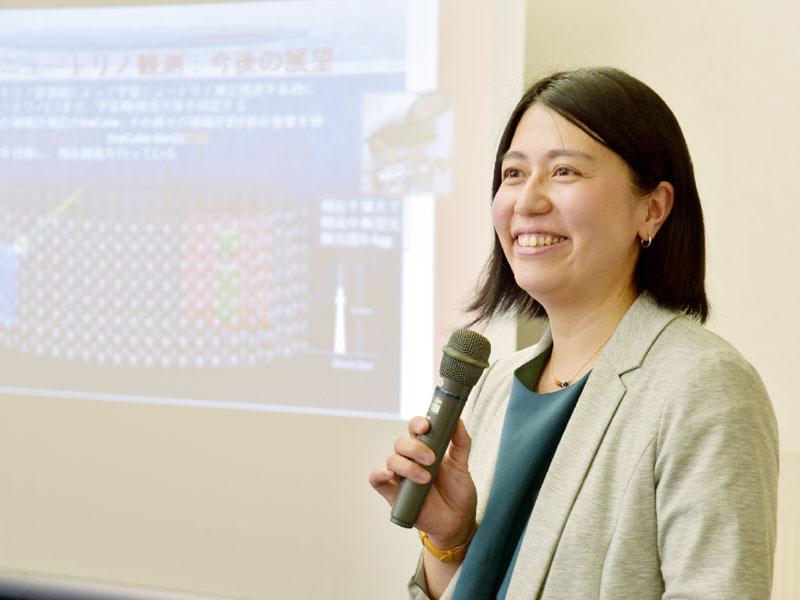 第37回猿橋賞に千葉大准教授の石原安野さん