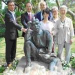 台南市、日本人土木技師の八田與一像を修復
