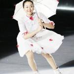 浅田真央さん「感謝の思いを込めて滑りたい」