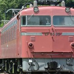 EF80交直両用電気機関車 関東では常磐線で使われていた
