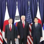 日米韓3カ国首脳
