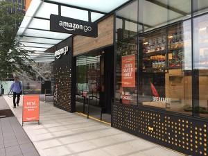 シアトル市内にオープンしたアマゾンゴー。