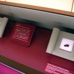 聖書博物館に展示されている「死海文書」の断片