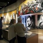 聖書が米国の歴史にどう影響を与えたかを紹介するコーナー