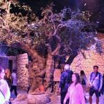 博物館の中にはイエス・キリスト時代のナザレの町並みが再現されている