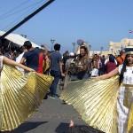 プトレマイオス朝時代のクレオパトラに仕える侍女たちの舞