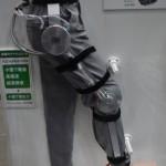 日本電産株式会社の減速機使用モデル。パワーアシストスーツを始め幅広い範囲への応用が期待される