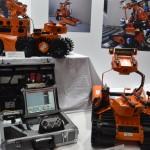 他にも多くの現場で作業を行う為の車輌が展示されている