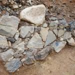 伏見城跡に秀吉の石垣に、家康の「埋め殺し」痕跡