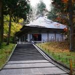 創建当時からの輝きを放つ中尊寺金色堂