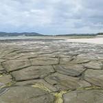 奥武島の畳石は国指定天然記念物に指定されている