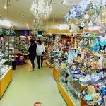 ガラス製品を展示・販売しているサハラガラスパーク