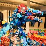プラスチック製、廃棄されたおもちゃが変身