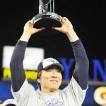 松井秀喜・金本知憲氏、競技者表彰で野球殿堂入り
