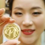 平昌五輪公式記念コインを国内でも販売