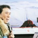 南極点到達の冒険家・荻田泰永さんが帰国
