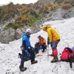 信州大学など、国内4例目の氷河を確認