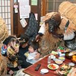伝統行事「吉浜のスネカ」が春を告げる