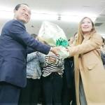 名護市長選、辺野古移設容認の渡具知氏当選