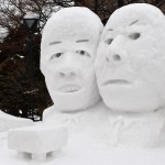 雪と氷の祭典「第69回さっぽろ雪まつり」開幕