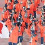百花繚乱堂々の入場、日本選手団「最強」示す大会