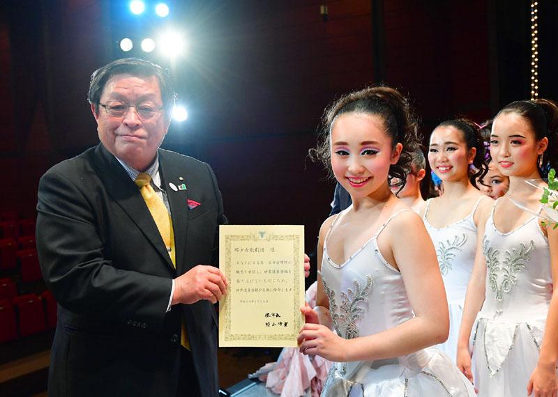 堺少女歌劇団を「世界遺産登録PR隊」に