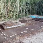 滋賀県野洲市の徳川御殿で、寝室跡を発見