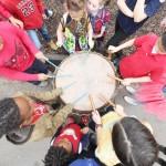 中国の春節を祝う米セントルイスの子供たち