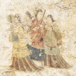 文化庁、高松塚古墳の壁画修理を2年延長