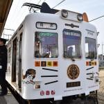 和歌山電鉄の「たま電車」、きょうも快走