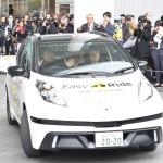 日産とDeNA、自動運転車での送迎を実験