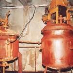 北朝鮮の化学工場