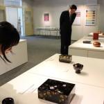 石川県立輪島漆芸技術研修所が研修生の作品展